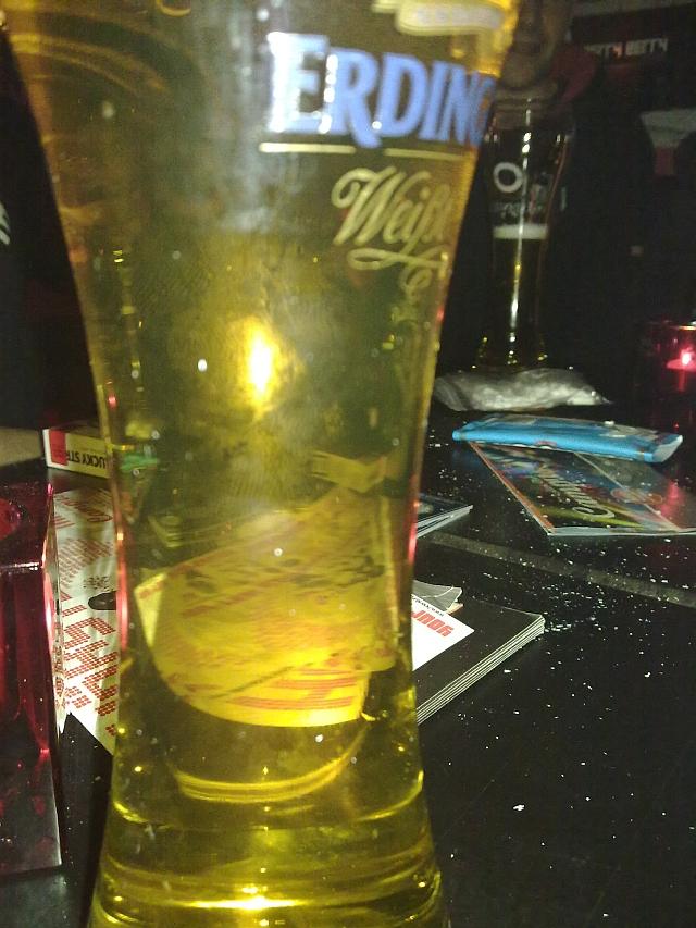 Bierglas Erdinger