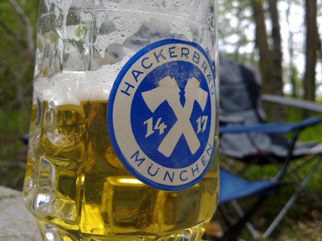 Bierglas Hacker