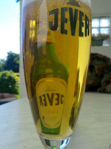 Bierglas Jever light