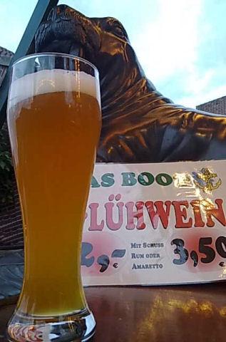 Bierglas Erdinger, Lafferder Markt