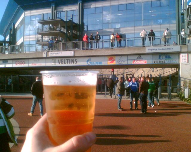 Bierbecher Veltins, Veltins Arena Schalke