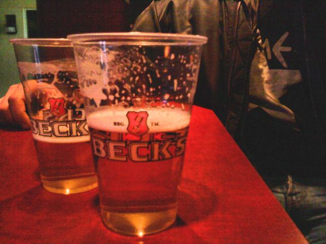 Bierbecher Becks, 0,3l
