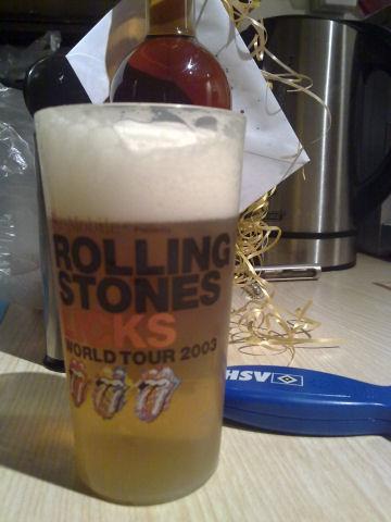 Bierglas Beck's Stones 1