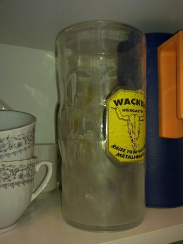 Bierbecher Maßkrug Plasitk Wacken