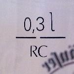 Füllstrich Ritzenhoff Cristall