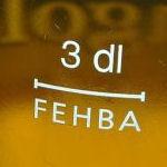 Füllstrich FEHBA 3dl