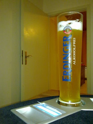 Bierglas Erdinger alkoholfrei Exklusiv