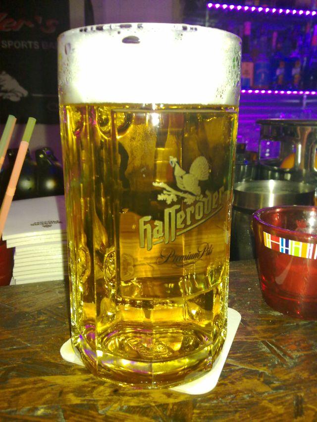 Bierglas Hasseröder, 0,5l