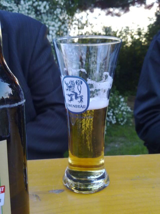 Bierglas, Löwenbräu