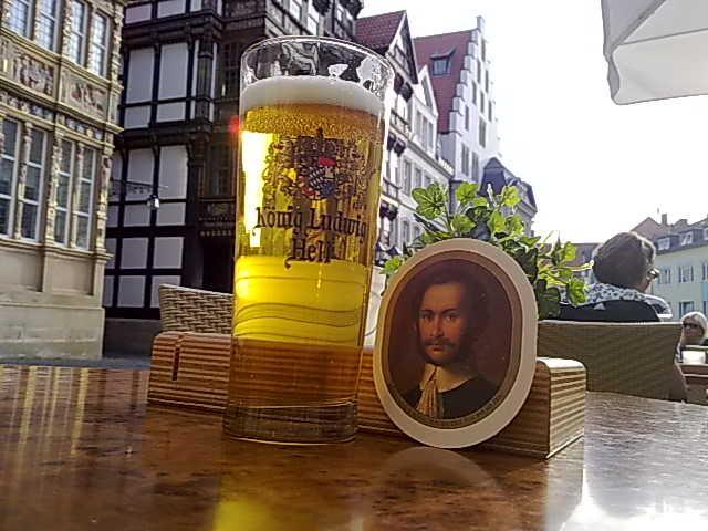 Bierglas, König Ludwig Hell