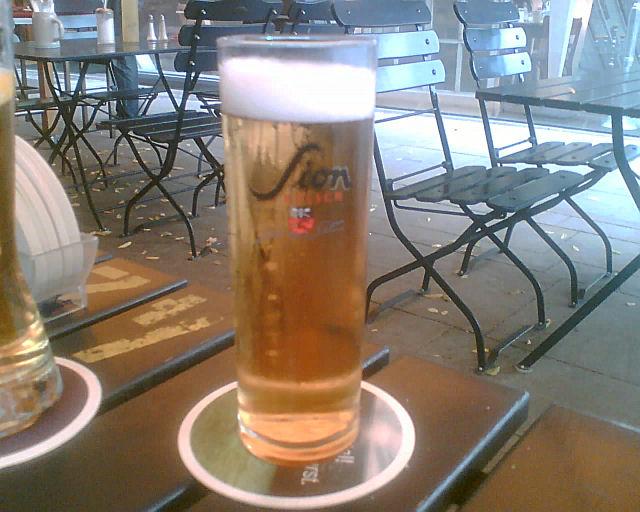 Bierglas Sion, StäV Hannover