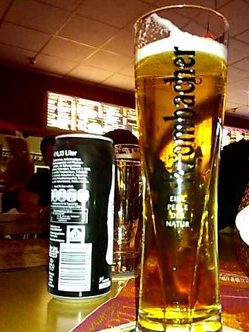 Bierglas Krombacher Starcup Exklusiv