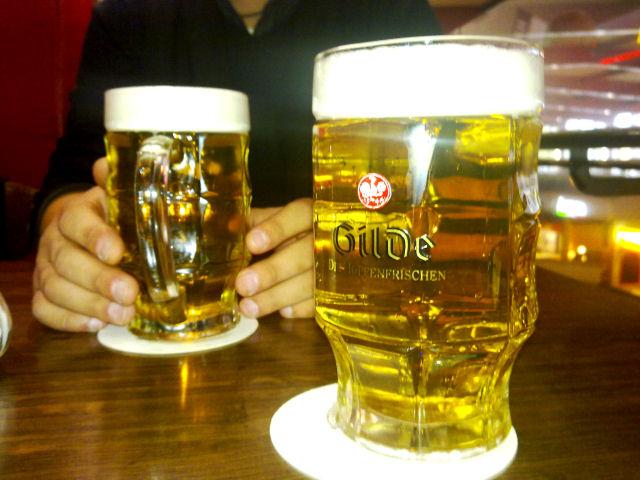 Bierglas Straßburg Seidel Gilde, Sahm