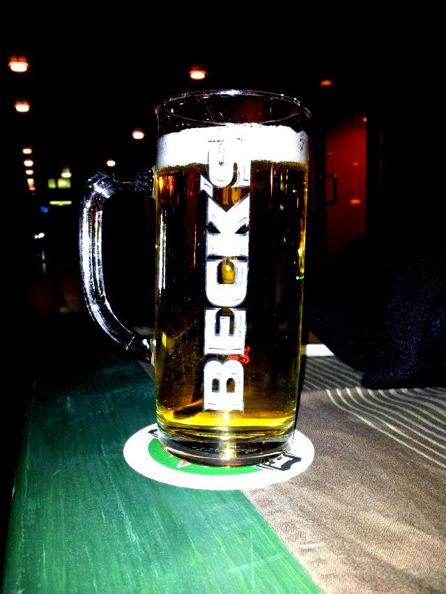 Bierglas Becks