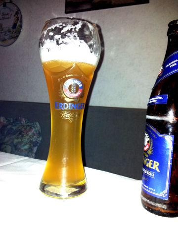 Bierglas Erdinger Pokal, Sahm