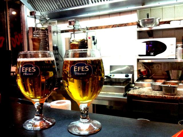 Bierglas Efes, Bologna, Sahm