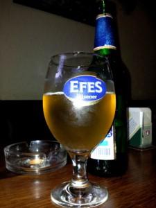 Bierglas Efes