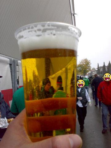 Bier im Becher, oldschool