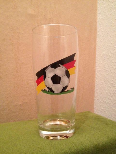 Bierglas Fussball, Deutschland