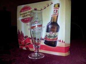 Einbecker Weihnachtsbier Designerglas, RC