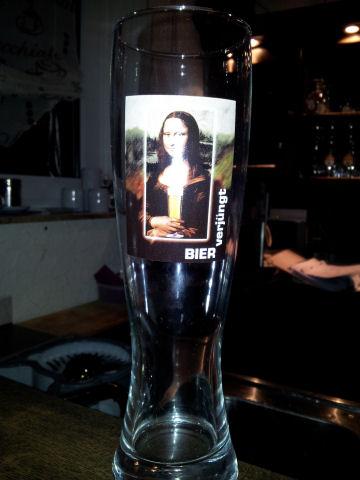 Mona Lisa Bierglas