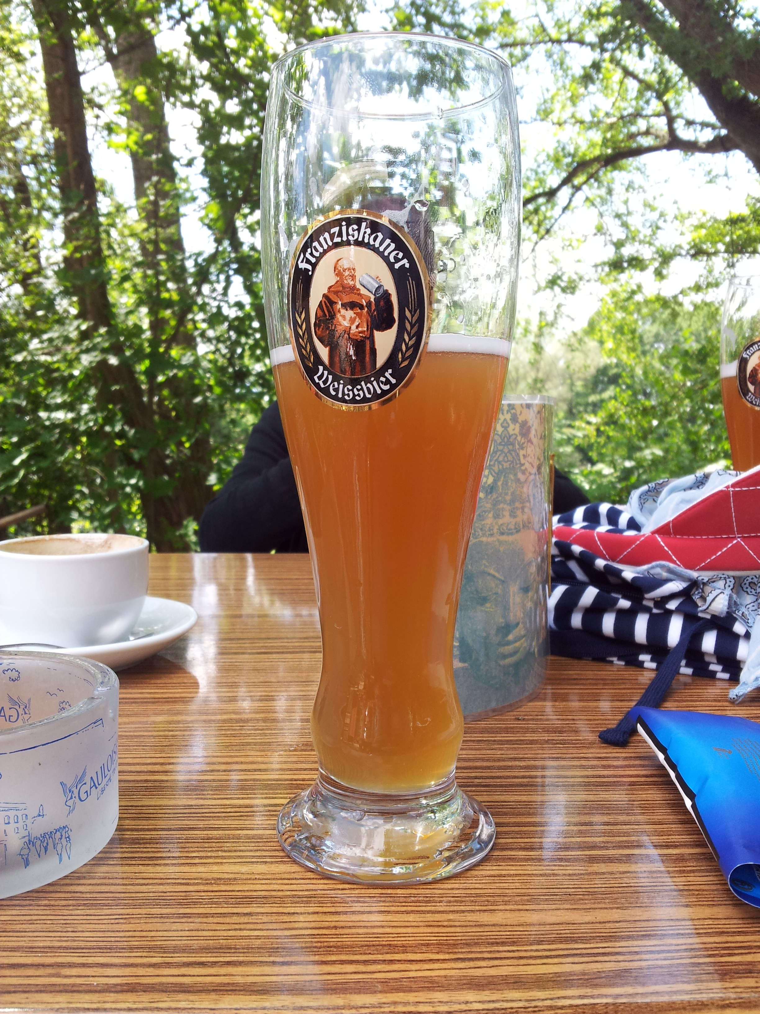 Bierglas Franziskaner