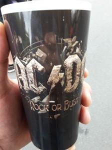 Bierbecher Rock or bust