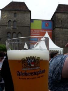 Bier im Becher: Tag der Niedersachsen 2015, Hildesheim