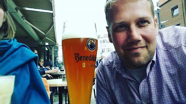 #Bier #Benediktiner #Weißbier #Sylt #waskostetdiewelt // schönes #Bierglas von #Rastal