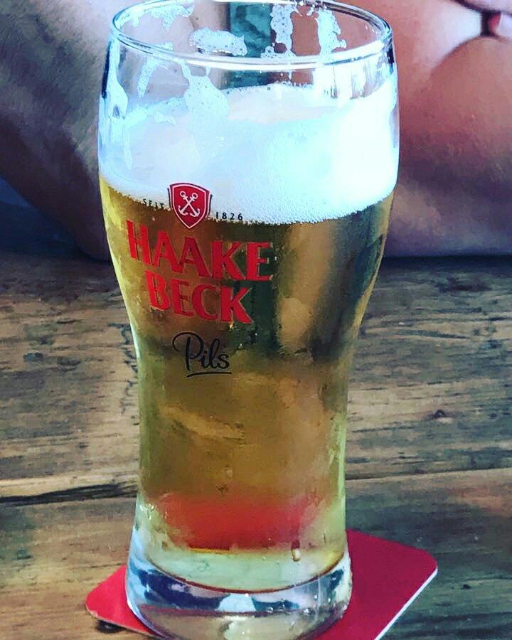 Bierglas Haake Beck