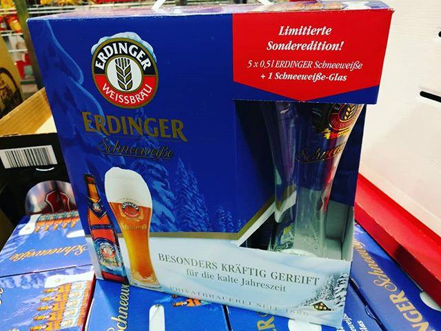 #erdinger Schneeweiße #Bierglas - limitierte Sonderedition produziert von #sahm // #bier
