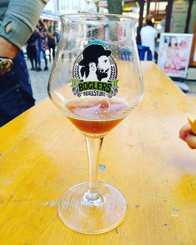 #Boglers #Bier im #Ritzenhoff #Bierglas. #schmeckfest #hildesheim #craftbeer