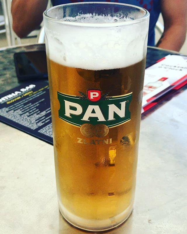 #bier #pan #bierglas. Wünschte ich hätte auch so eins, Kevin.