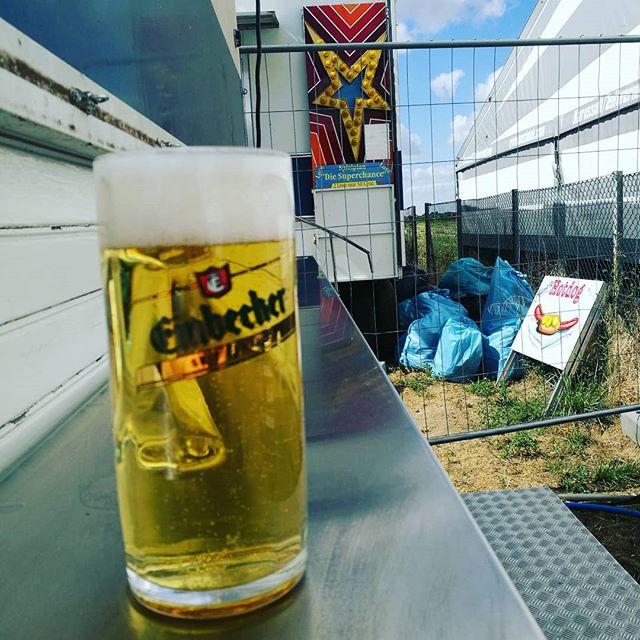 #einbecker #bierglas auf dem Schützenfest #feldbergen #niedersachsen. #dahabeichaktiendran