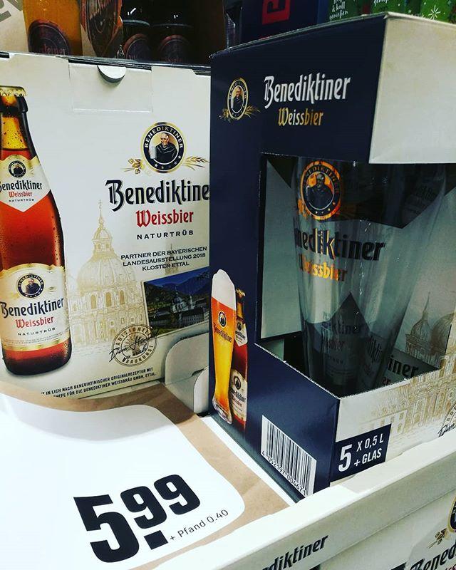 #benediktiner #weissbier #bierglas. Sehr schön, ein tolles Glas wie ich finde