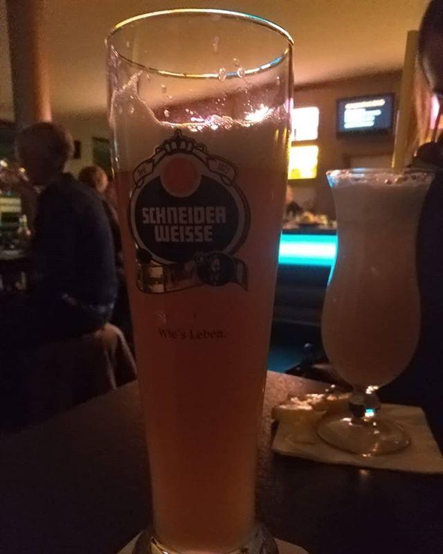 #bier #bierglas #schneiderweisse // in der #sorgenfrei bar #hildesheim
